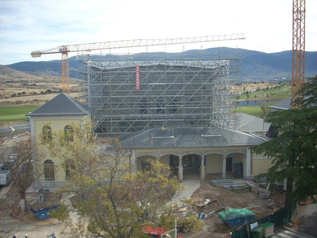 REHABILITACION PALACIO LA FAISANERA (SEGOVIA)