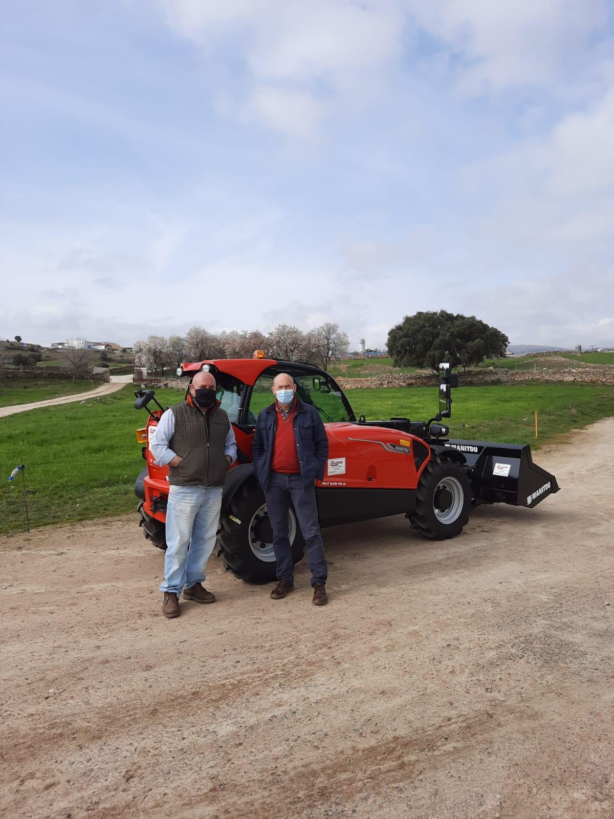 Nos vamos hasta el Valle del Alberche a entregar una Telescópica compacta!