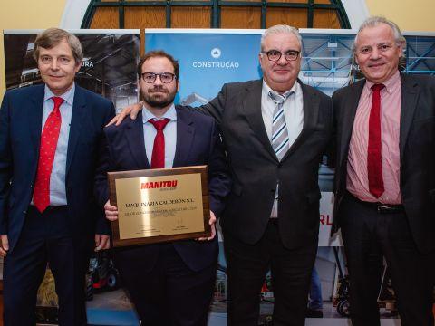 Maquinaria Calderón consigue premio al Mejor Concesionario Agrícola del año 2019