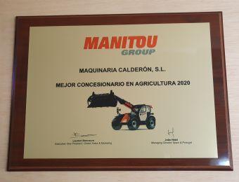 Reconocimiento al trabajo y esfuerzo de todo el equipo de Maquinaria Calderón
