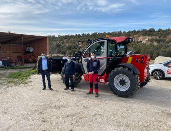 Entregamos una nueva telescópica Manitou en la provincia de Segovia