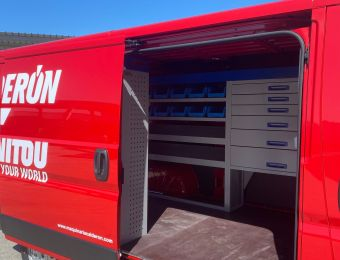 Estrenamos nueva furgoneta Taller para el Servicio Técnico en Segovia