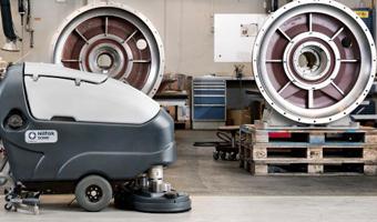 Soluciones de limpieza industrial